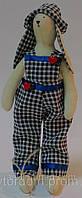 Детская Интерьерная Кукла Зайка мальчик тильда