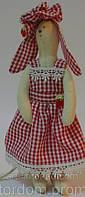 Детская Интерьерная Кукла Зайка тильда