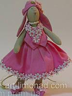 Детская Кукла Тильда Зайка девочка