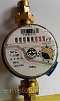 """Водосчетчик бытовой JS-1,0 ХВ SMART Ду 15 1/2"""" Apator POWOGAZ одноструйный крыльчатый (счетчик воды кубовый)"""