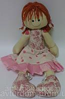 Детская Интерьерная Кукла Тильда с бантиками