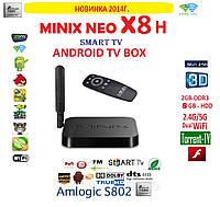 MINIX X8-L 8Gb  Android tv 4ядра 2гб DDR3 LAN USB  пульт +НАСТРОЙКИ I-SMART