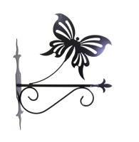 "Подставка для подвесного цветка ""Бабочка"""