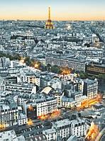 """Фотообои: """"Париж с высоты птичьего полета"""", 183х254 см"""