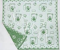 Детская простынь на льняной основе 110 х 110 см. Цвет указывайте в комментарии к заказу.