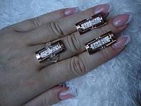 Наборы из серебра с золотом (142