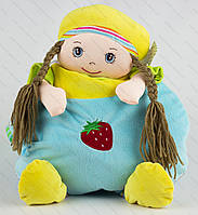 Детский плед-рюкзак с игрушкой. Размер 80 х 100 см., фото 1