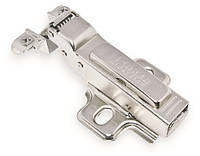 Петля L.S. для алюминиевого профиля полунакладная (1/2) 110* d 35 с плавным доведением