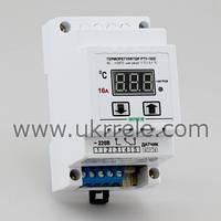 Терморегулятор цифровой универсальный на DIN-рейку (тр. блок питания, 16А/3кВт) РТУ-16/D-Т