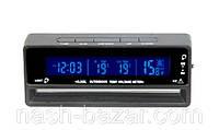 Часы автомобильные vst-7010v, индикация времени, даты, температуры, уровня заряда аккумулятора,  2 подсветки