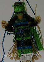 Оберег, плетеный из льна