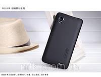 Чехол-бампер и плёнка NILLKIN для телефона Lenovo P770 чёрный