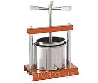 Marcato OMAC 360 Torchietto бытовая соковыжималка ручной винтовой пресс для сока из яблок, винограда, цитрусов