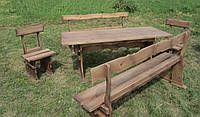 Набор дачной,садовой мебели из дерева