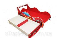 Кровать - машина с ящиком 1740 * 836 мм