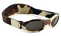 Детские солнцезащитные очки Kidz Banz (от 2 до 5 лет), цвет: коричневый камуфляж
