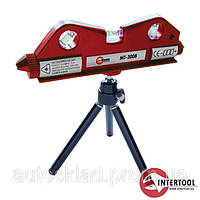 Уровень лазерный мини на штативе Intertool