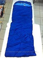 Спальник в компрессионном чехле (одеяло с капюшоном 250) весна-осень