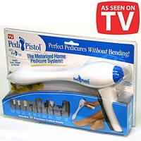 Набор для педикюра Pedi Pistol (Педи Пистол) 10 насадок