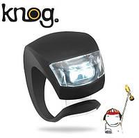 Силиконовый фонарик, мигалка, стоп, маячок (черный) 1шт