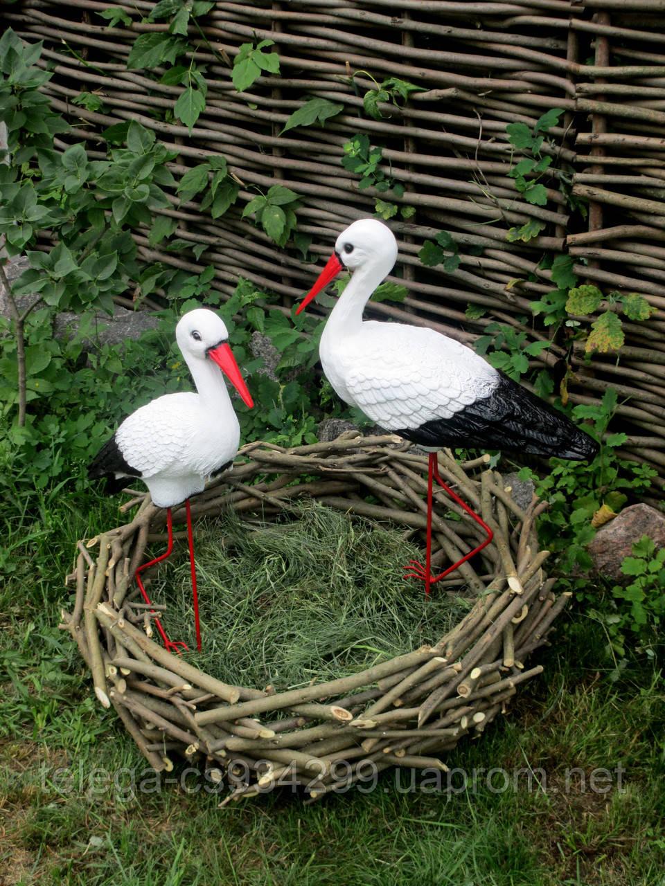 Как сделать гнездо аиста из веток 563