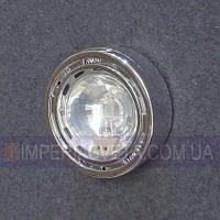 Мебельный светильник, подсветка IMPERIA галогенная накладная со стеклом LUX-124651