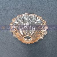 Блюдце, чашка декоративное для люстр, светильников IMPERIA стеклянная на ражок LUX-512066