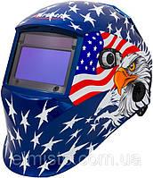 Маска сварщика Хамелеон ARTOTIC SUN7B Американский флаг премиум-класса