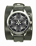 Наручные часы с кожаным ремешком AndyWatch. Узоры