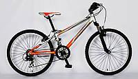 Велосипед BARRACUDA 1109, 24 обода, горный, рама алюминий, одноподвесный