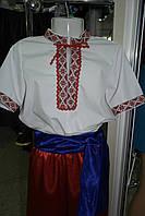 Рубашка украинская для мальчиков (короткий рукав)