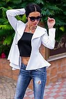 Стильный расклешенный пиджак