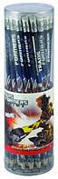 Карандаши графитные с резинкой (тубус, 36 шт) KITE 2013 Transformers 056
