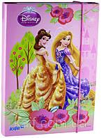 Папка картонная для тетрадей на резинке В5 KITE 2013 Princess 210