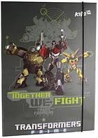 Папка картонная на резинке А4 KITE 2013 Transformers 211