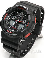 Часы мужские Casio G-Shock black-red
