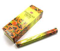 Аромапалочки  Jamaican Fruit (Ямайские фрукты) (Hem) (6/уп) шестигранник