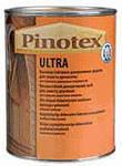 Pinotex Ultra  декоративное средство защиты древесины 1л белый