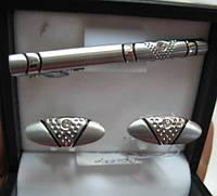 """Необычный набор """"Шик"""" (запонки и зажим для галстука) от Студии  www.LadyStyle.Biz"""