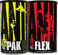 Universal Nutrition Animal Pak 44pack +Animal Flex 44Pack
