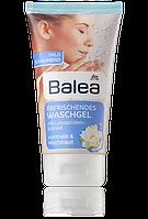 Гель для умывания лица Balea Waschgel mit Lotusbluve с лотосом