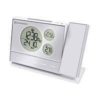 Проекционные часы Bresser BF-Pro White