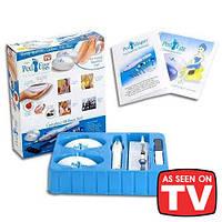 Набор для педикюра Ped Egg (Пед Эгг)  + Ped Shaper (Пед Шейпер)  18 предметов купить в Украине