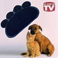Коврик подстилка для домашних животных Paw Print Litter Mat купить в Украине