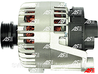 Генератор (новый) на Fiat Doblo 1.4. 12 V (Вольт), 105 А (Ампер) Фиат Добло 1.4 бензин.