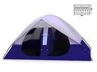 Палатка 1500 шестиместная Coleman