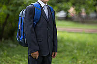 Школьная форма, одежда для мальчиков.Серый. Размер 122, 128, 146 см