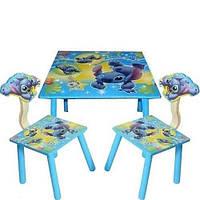 Столик Bambi со стульчиками Лило и Стич