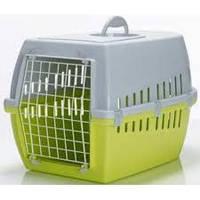 Переноска Savic 3261 00LL Trotter 2 (Троттэр 2) для собак и котов пластик 56 см/37.5 см/33 см лимонный