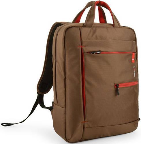 """Рюкзак городской для ноутбука 15,6"""" Crown Practical Series, BPP-5515BN коричневый"""